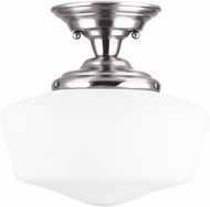 Seagull Academy Brushed Nickel Ceiling Lighting