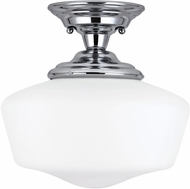 Seagull 77437EN-05 Academy Chrome LED Ceiling Light Fixture