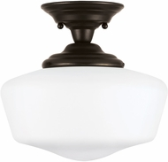 Seagull 77437EN-782 Academy Heirloom Bronze LED Flush Lighting