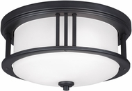 Seagull Crowell Black Outdoor Overhead Light Fixture
