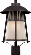 Seagull 8211701EN-746 Hamilton Heights Oxford Bronze LED Exterior Post Lighting