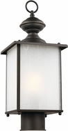 Seagull 82570EN3-71 Jamestowne Antique Bronze LED Outdoor Lamp Post Light