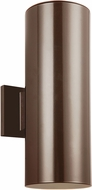 Seagull 8313802EN-10 Contemporary Bronze LED Exterior Wall Light Sconce