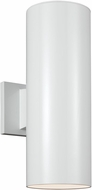 Seagull 8313802EN-15 Modern White LED Outdoor Wall Sconce Light