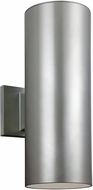 Seagull 8313802EN-753 Contemporary Painted Brushed Nickel LED Exterior Wall Sconce