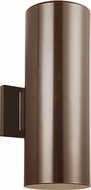 Seagull 8313902EN-10 Contemporary Bronze LED Exterior Light Sconce