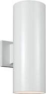 Seagull 8313902EN-15 Modern White LED Outdoor Lighting Sconce