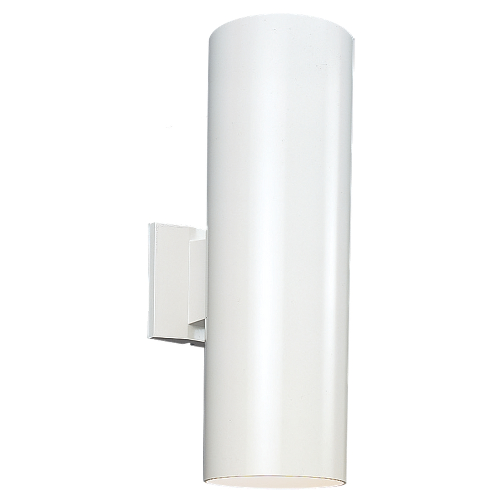 Seagull 8413991s 15 outdoor bullets contemporary white led exterior seagull 8413991s 15 outdoor bullets contemporary white led exterior wall sconce lighting loading zoom aloadofball Gallery