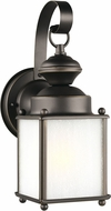 Seagull 84560EN3-71 Jamestowne Antique Bronze LED Outdoor Wall Light Sconce