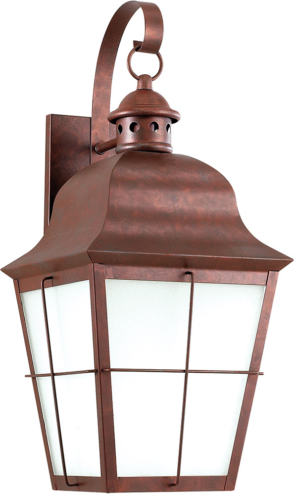 Seagull 8463den 44 chatham traditional weathered copper led outdoor seagull 8463den 44 chatham traditional weathered copper led outdoor lighting wall sconce loading zoom aloadofball Images