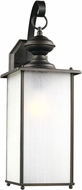 Seagull 84670EN3-71 Jamestowne Antique Bronze LED Outdoor Light Sconce
