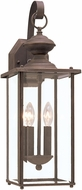 Seagull 8468EN-71 Jamestowne Antique Bronze LED Exterior Wall Mounted Lamp