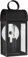 Seagull 8514801EN-12 Conroe Traditional Black LED Exterior Wall Sconce Light