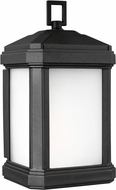 Seagull 8547401EN3-12 Gaelan Modern Black LED Exterior Wall Sconce Lighting