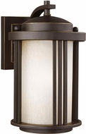 Seagull 8547901DEN3-71 Crowell Modern Antique Bronze LED Exterior Wall Light Sconce
