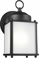 Seagull 8592001EN3-12 New Castle Black LED Outdoor Wall Lamp