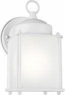 Seagull 8592001EN3-15 New Castle White LED Exterior Wall Lighting