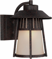 Seagull 8611701EN-746 Hamilton Heights Oxford Bronze LED Outdoor Wall Mounted Lamp