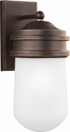 Seagull 8612601EN-71 Mount Greenwood Antique Bronze LED Exterior Wall Light Sconce