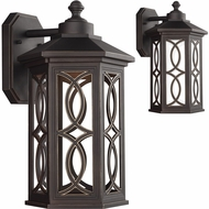 Seagull 8617091S-71 Ormsby Antique Bronze LED Exterior Wall Sconce