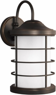 Seagull 8624451EN-71 Sauganash Modern Antique Bronze LED Exterior Wall Lighting