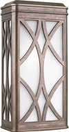 Seagull 8719601EN3-44 Melito Modern Weathered Copper LED Outdoor Wall Light Sconce
