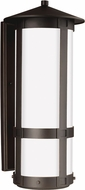 Seagull 8735902EN-71 Groveton Modern Antique Bronze LED Outdoor Lighting Wall Sconce