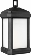 Seagull 8747401EN3-12 Gaelan Contemporary Black LED Exterior Wall Sconce Light