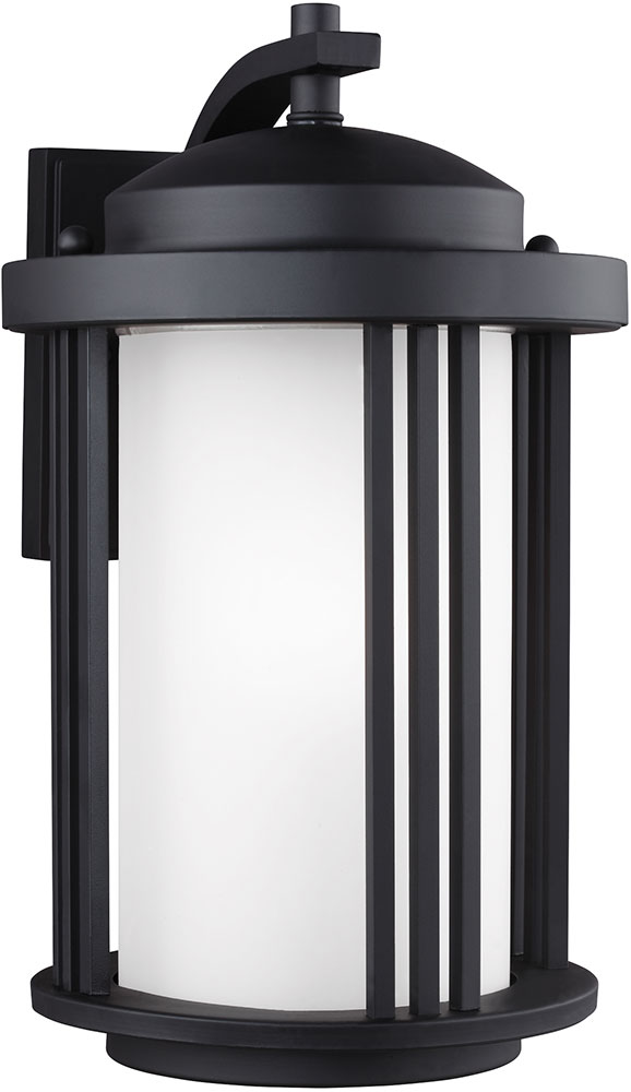 Seagull crowell black outdoor lighting sconce sgl crowell 9 black seagull crowell black outdoor lighting sconce loading zoom aloadofball Images