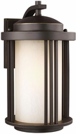 Seagull 8747901DEN3-71 Crowell Modern Antique Bronze LED Outdoor Wall Lighting