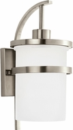 Seagull 88119EN-962 Eternity Modern Brushed Nickel LED Exterior Wall Sconce