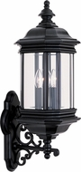 Seagull 8839EN-12 Hill Gate Traditional Black LED Exterior Light Sconce