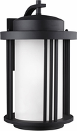 Seagull Crowell Black Outdoor Wall Sconce Lighting