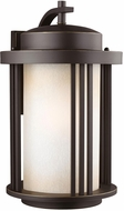 Seagull 8847901DEN3-71 Crowell Modern Antique Bronze LED Outdoor Light Sconce