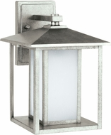 Seagull 89031EN-57 Hunnington Modern Weathered Pewter LED Exterior Wall Lighting Fixture