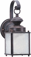 Seagull 89380EN-08 Jamestowne Textured Rust Patina LED Outdoor Sconce Lighting