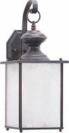 Seagull 89382EN-08 Jamestowne Textured Rust Patina LED Outdoor Lighting Sconce