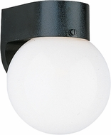 Seagull 8955EG-12 Contemporary Black LED Exterior Wall Sconce Lighting