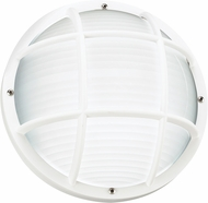 Seagull 89807EN-15 Bayside Modern White LED Outdoor Wall Lighting Fixture