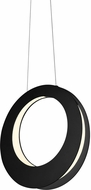 Sonneman 1754.25 Haro Contemporary Satin Black LED Pendant Light