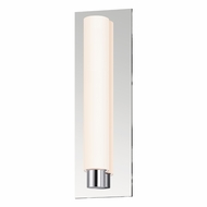 Sonneman 2441.01.DT Tubo Slim Contemporary Polished Chrome Finish 4.75  Wide LED Wall Lighting