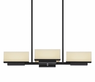 Sonneman 2464.51 Aspen Black Brass Finish 5.5  Tall LED Island Lighting