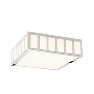 Sonneman 2529.35 Capital Modern Polished Nickel Finish 5.5  Tall LED Flush Mount Lighting Fixture
