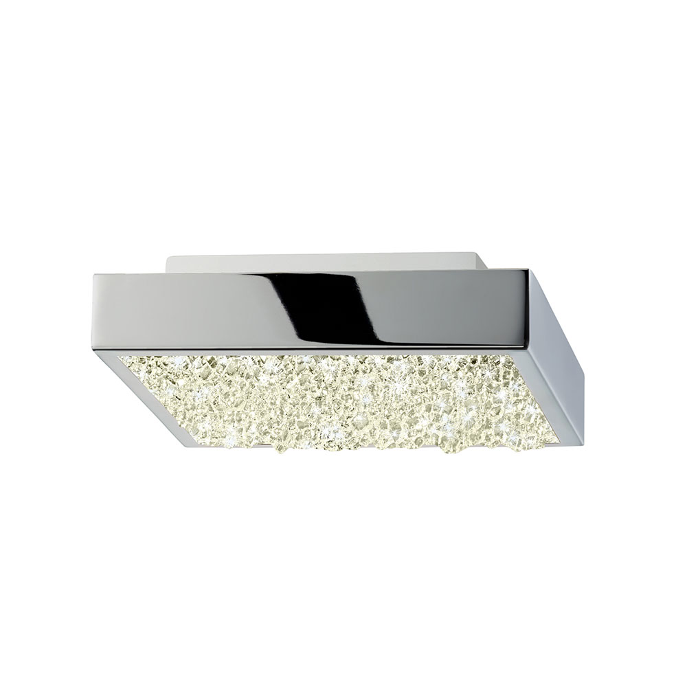 Sonneman dazzle contemporary polished chrome led for Modern led light fixtures