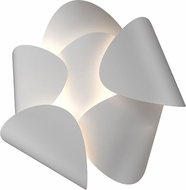 Sonneman 2640.03 Lotus Contemporary Satin White LED Lamp Sconce