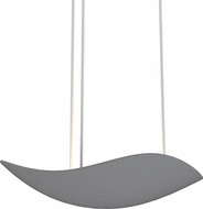 Sonneman 2665-18 Infinity Contemporary Dove Grey LED Pendant Lighting Fixture