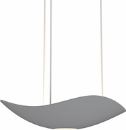 Sonneman 2666-18 Infinity Contemporary Dove Grey LED Hanging Pendant Light