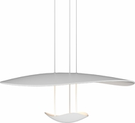 Sonneman 2667-03 Infinity Reflections Modern Satin White LED Pendant Hanging Light