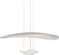 Sonneman 2668-03 Infinity Reflections Modern Satin White LED Drop Lighting