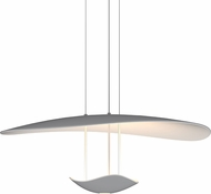 Sonneman 2668-18 Infinity Reflections Contemporary Dove Grey LED Drop Ceiling Lighting